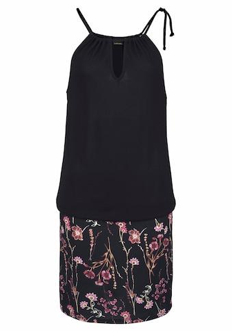 LASCANA Strandkleid, mit bedrucktem Rockteil kaufen