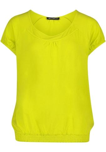 Betty Barclay Rundhalsshirt, mit Gummizugbündchen kaufen