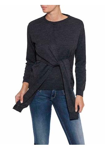 Herrlicher Pullover im Wickeldesign kaufen