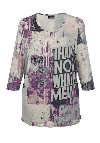 MIAMODA 3/4-Arm-Shirt, mit dekorativem Druck kaufen