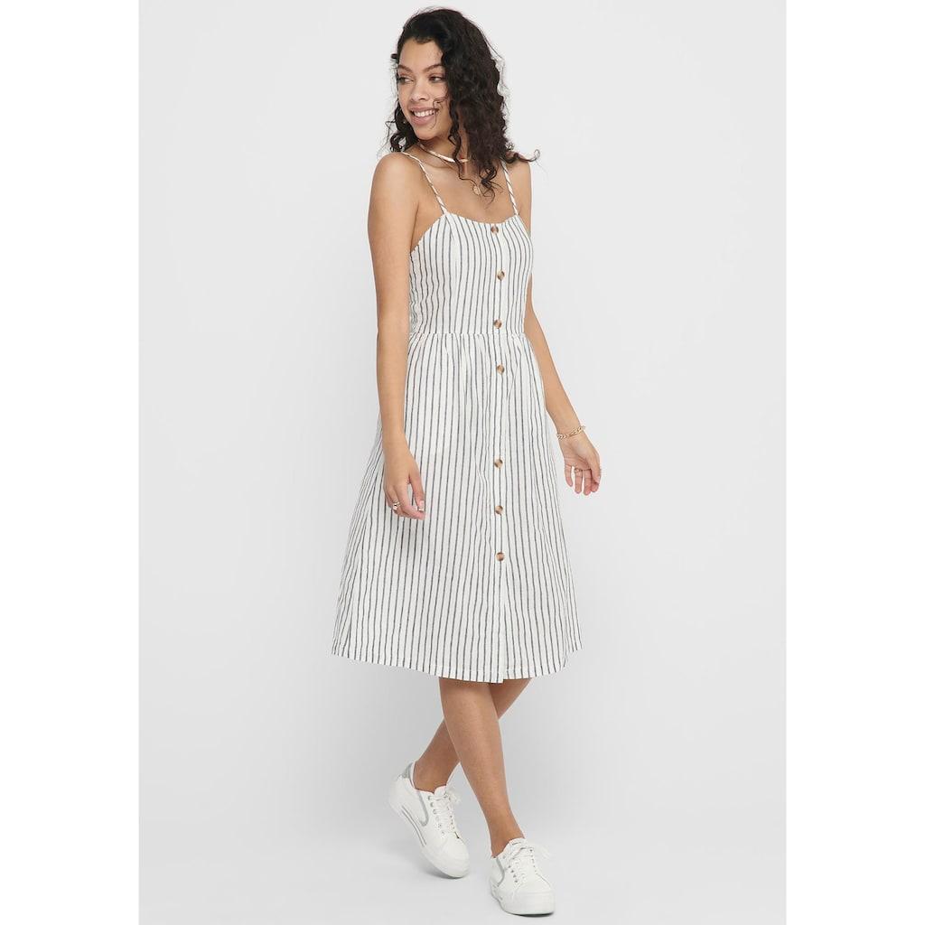 Only Sommerkleid »ONLLUNA STRAP STRIPE DNM DRESS«