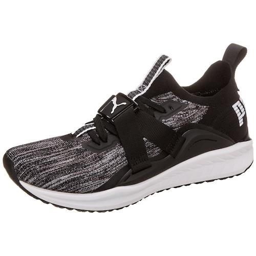Puma 2 Sneaker Ignite Lo Evoknit Schwarz weiß q4avPqwU