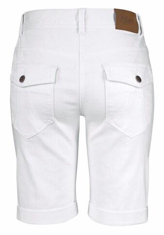 Aniston CASUAL Jeansbermudas, mit aufgesetzten Pattentaschen kaufen