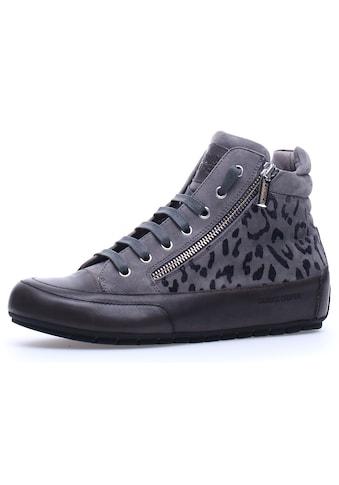 Candice Cooper Sneaker »MONTREAL«, aus bedrucktem Leder mit Innenreißverschluss kaufen