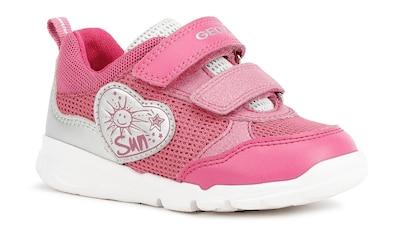 Geox Kids Sneaker »B RUNNER GIRL C«, mit Ferseneinsatz im Metallic Look kaufen