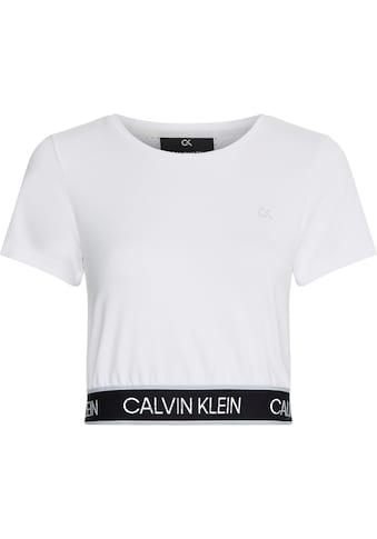 Calvin Klein Performance T-Shirt »PW - MESH BACK CROPPED T-SHIRT«, mit Mesh-Einsatz im Rücken kaufen