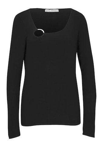 Pullover mit asymmetrischem Ausschnitt kaufen