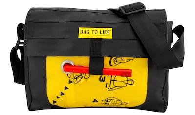 Bag to Life Umhängetasche »Co Pilot, Alltagstasche«, aus recyceltem Material kaufen