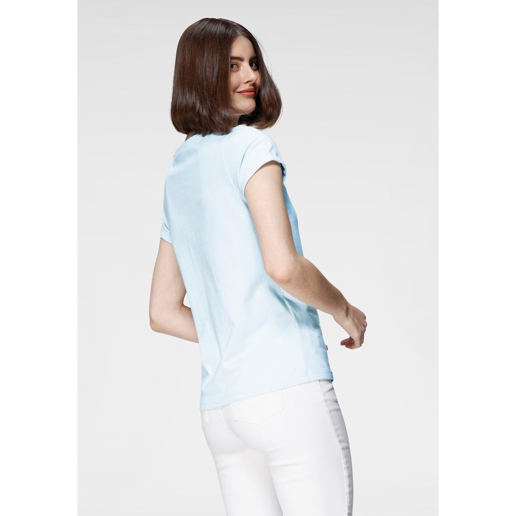 OTTO products T-Shirt, nachhaltig aus GOTS zertifizierter Bio-Baumwolle mit Statement-Stickerei