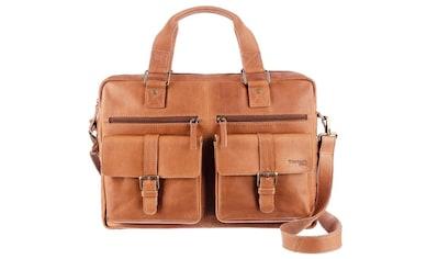 GreenLand Nature Messenger Bag, mit praktischem Reißverschluss-Rückfach kaufen