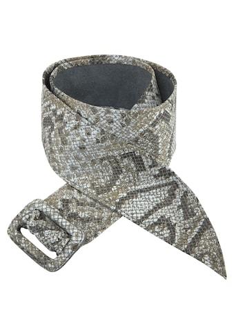Vanzetti Ledergürtel, Schlicht oder mit Reptilien-Prägung kaufen