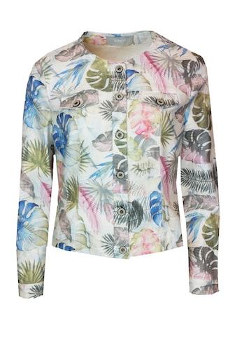 bianca Jeansjacke »TAMI«, im stylischen Allover Jungle-Print kaufen