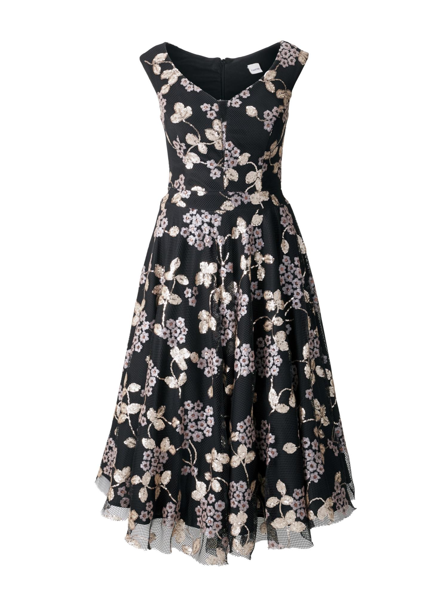 ashley brookeheine abendkleid, mit petticoat