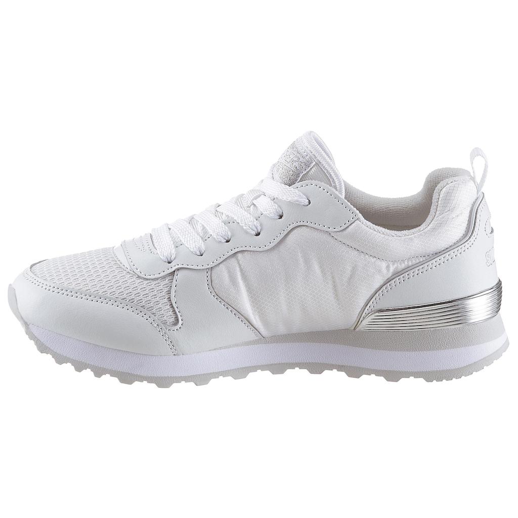 Skechers Sneaker »Gold´n Gurl«, mit Metallic-Details