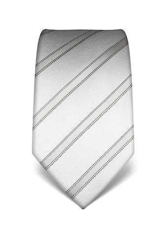 Vincenzo Boretti Krawatte in gestreiftem Design kaufen