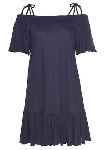 LASCANA Jerseykleid, mit Carmenausschnitt kaufen