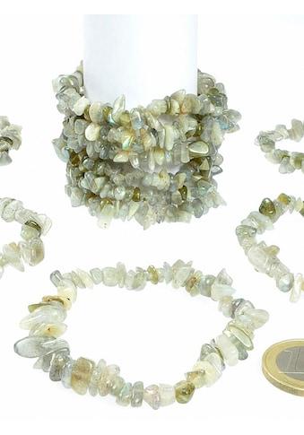 Adelia´s Armband »Damen Schmuck Edelstein Labradorit Armband blau 19 cm« kaufen