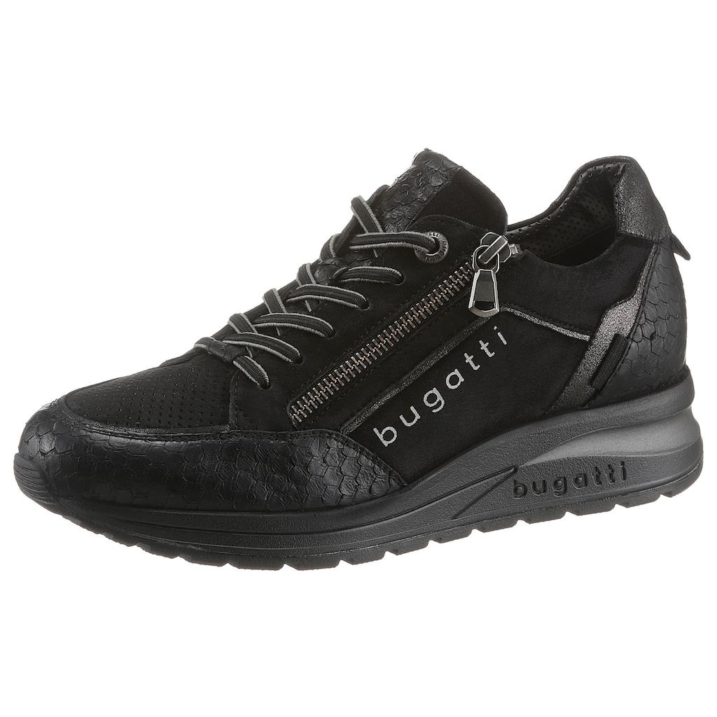 bugatti Wedgesneaker »VENICE«, mit Gummizug