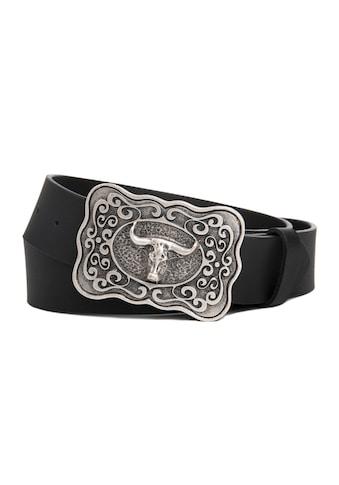 CASSANDRA Ledergürtel »Stier«, mit extravaganter Koppelschließe kaufen