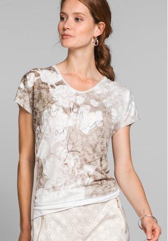 bianca Print-Shirt »JULIE«, femininer Blumenprint mit Schriftzug kaufen
