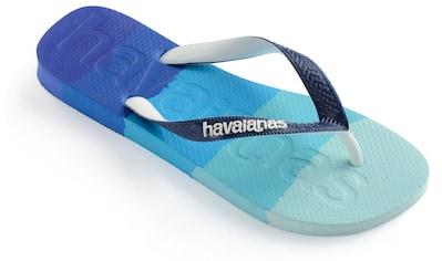 Havaianas Zehentrenner »TOP LOGOMANIA MULTICOLOR«, im trendigen Colour-Blocking kaufen