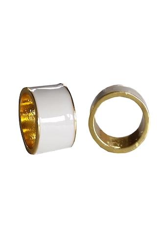 leslii Ring mit breitem Statement - Streifen kaufen