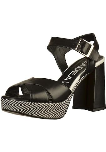 GADEA High-Heel-Sandalette »Leder« kaufen