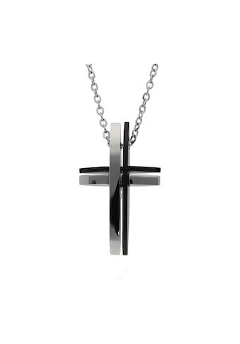 Jacques Charrel Kreuzkette »Kreuz Behang, Edelstahl« kaufen