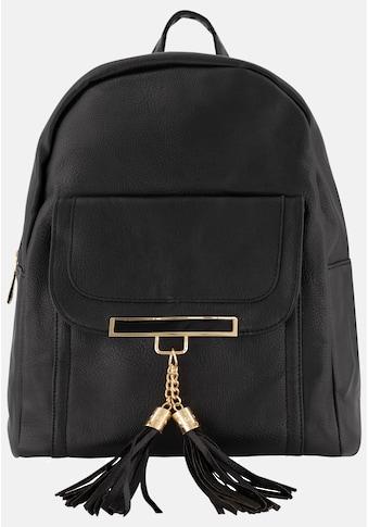 er piu Rucksack, mit stylischer Überschlagsvortasche kaufen