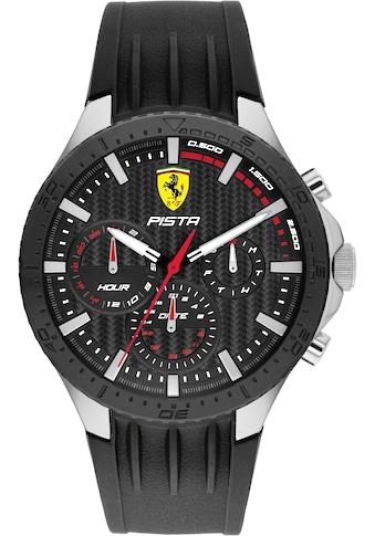 Scuderia Ferrari Multifunktionsuhr »Pista, 0830853« kaufen