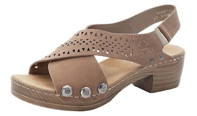 Rieker Sandalette, mit perforierter Bandage kaufen