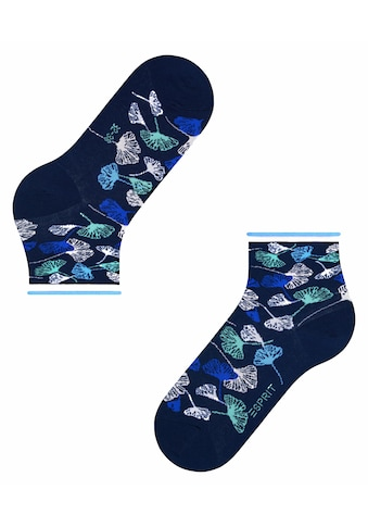 Esprit Socken »Ginkgo Leaves«, (1 Paar), aus Biobaumwolle kaufen
