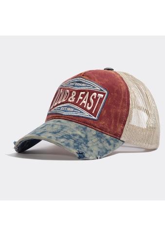 KingKerosin Trucker Cap »Loud & Fast«, im Used-Look mit Destroyed-Effekten kaufen