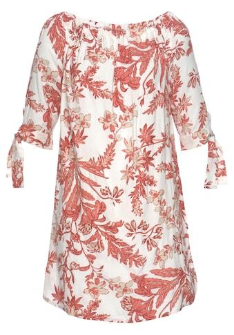 LASCANA Blusenkleid, mit floralem Druck kaufen