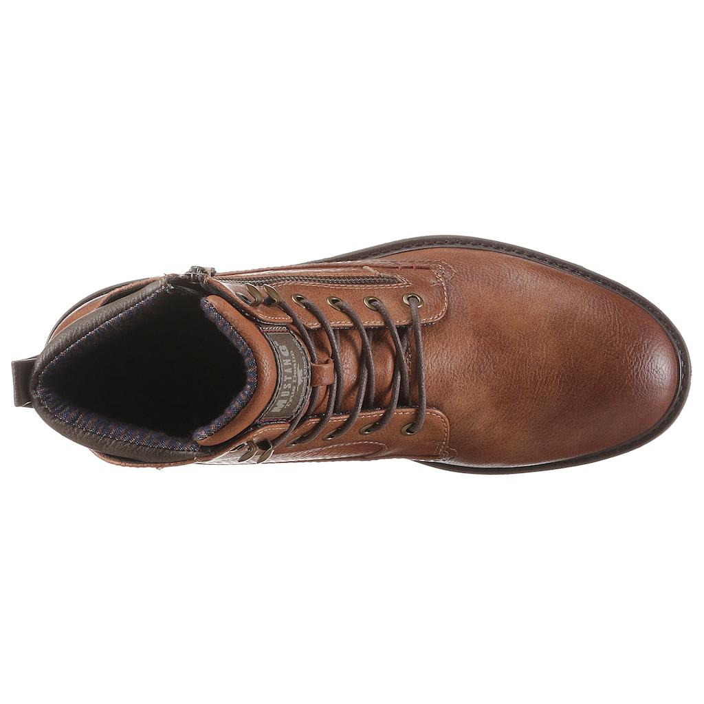 Mustang Shoes Schnürstiefel