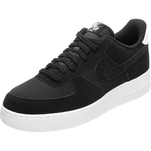 Schwarz Sportswear Suede Air Sneaker Force 1 weiß '07 Nike 0zd4w0
