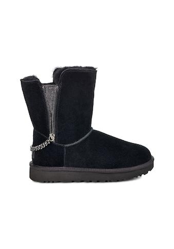 UGG Winterstiefel »Classic Short Sparkle Zip« kaufen