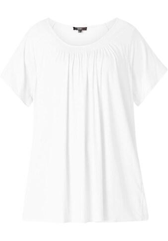 BSIC by Yesta T-Shirt »Yokia«, Am Ausschnitt leicht angekraust kaufen