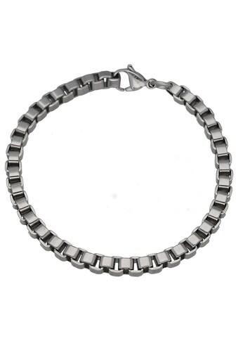 Jacques Charrel Armband »Armband Venezianerkette, Edelstahl« kaufen