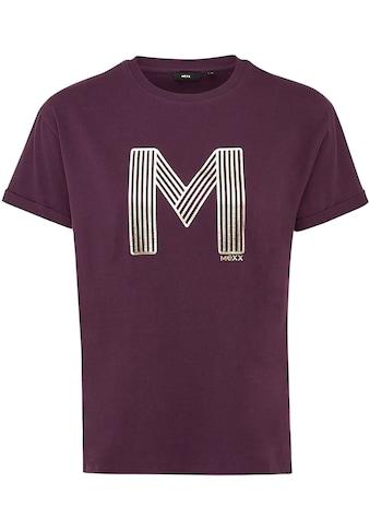 Mexx T-Shirt, mit Metallic-Print kaufen