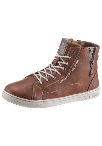 Mustang Shoes Sneaker, mit kleinem Zierreißverschluss kaufen