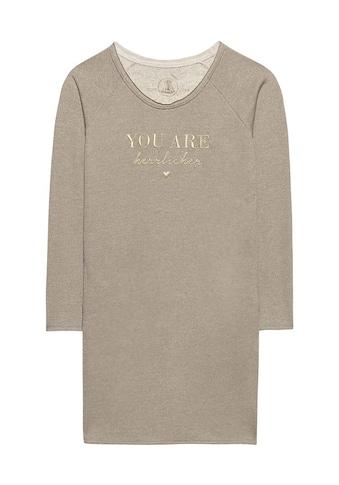 Herrlicher Sweatshirt »Carra«, mit trendigen Glitzerdetails kaufen