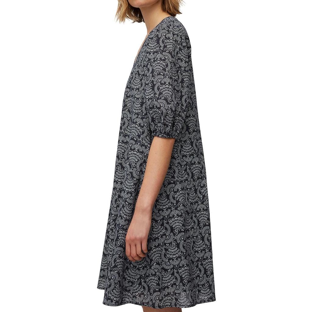 Marc O'Polo A-Linien-Kleid, mit modernen Ärmeln