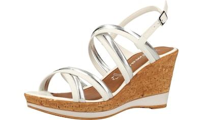 Tamaris High-Heel-Sandalette »Leder/Synthetik« kaufen