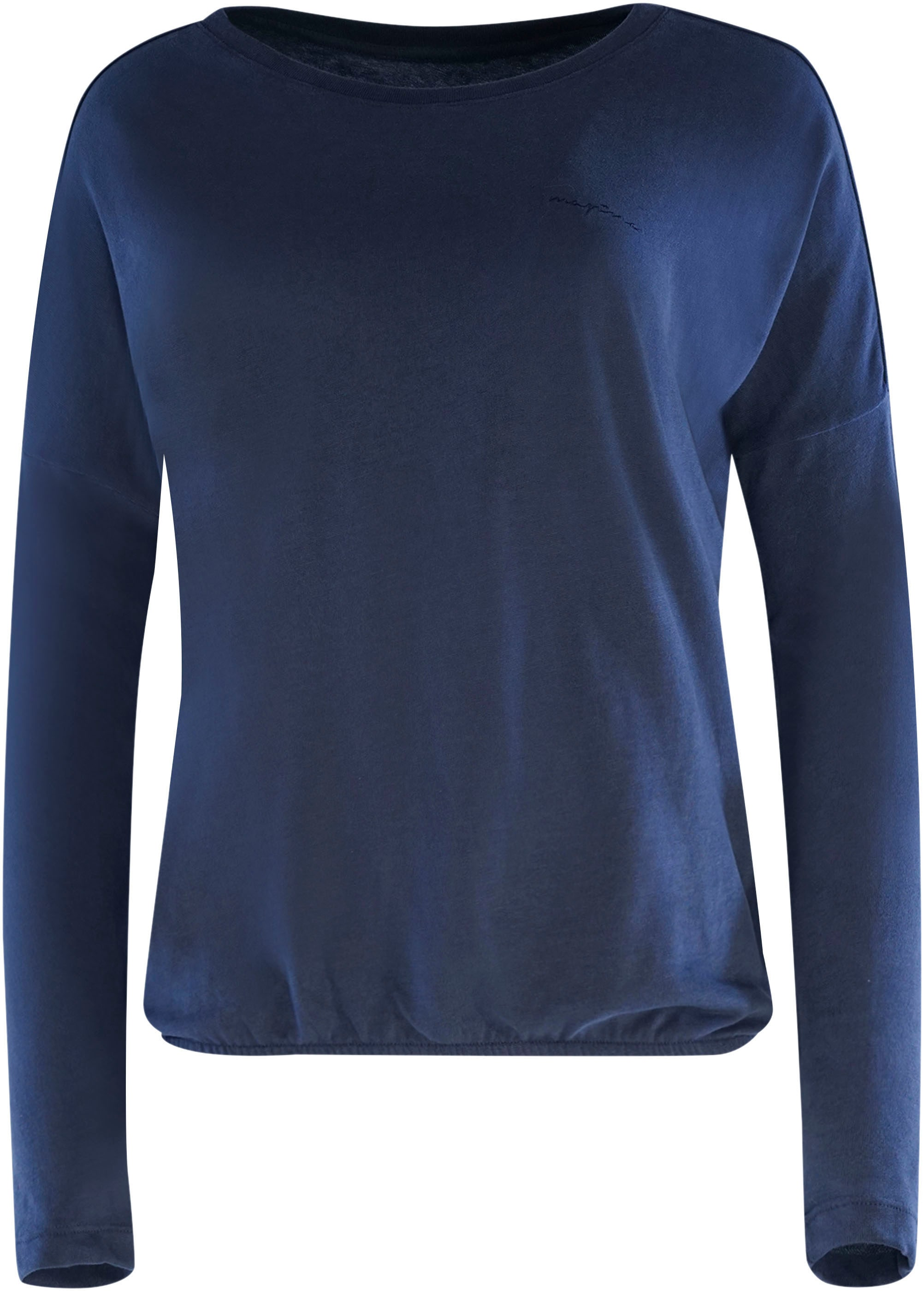 mazine -  T-Shirt Celeste, sportives Shirt mit Gummizug-Saum