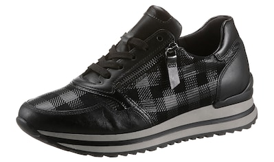 Gabor Keilsneaker »TURIN«, mit kariertem Muster kaufen
