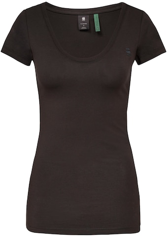 G-Star RAW T-Shirt »Base Top R«, aus weichen, atmungsaktiven Jersey im Bio-Baumwollmix kaufen