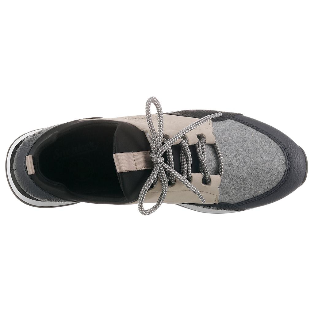 Rieker Slip-On Sneaker, im Materialmix