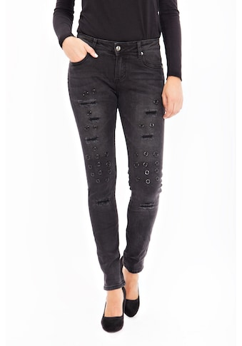 Blue Monkey Skinny - fit - Jeans »Honey 1689« kaufen