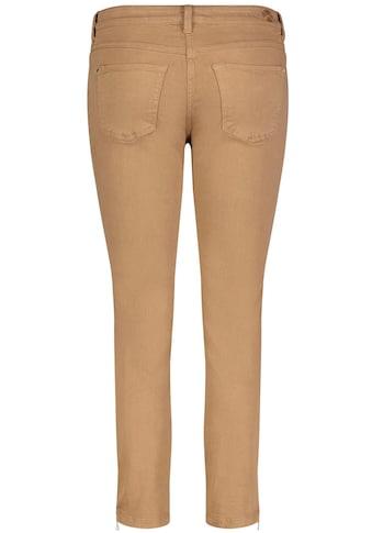 MAC 7/8-Jeans »Dream Chic«, Verkürzte Form mit Reißverschluss am Saum kaufen